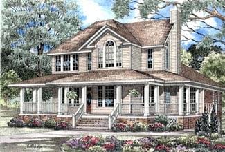 Southern House Plan 62015