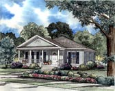Plan Number 62022 - 1342 Square Feet