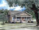 Plan Number 62024 - 1401 Square Feet