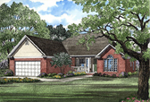 Plan Number 62036 - 1538 Square Feet