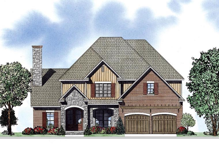 Colonial Southern House Plan 62040 Elevation