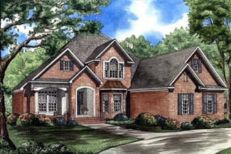 Traditional House Plan 62043 Elevation