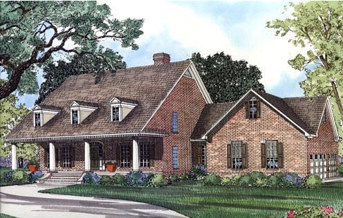 CapeCod House Plan 62045