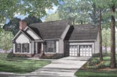 Plan Number 62049 - 1627 Square Feet