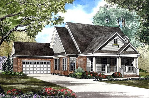 Southern House Plan 62063 Elevation