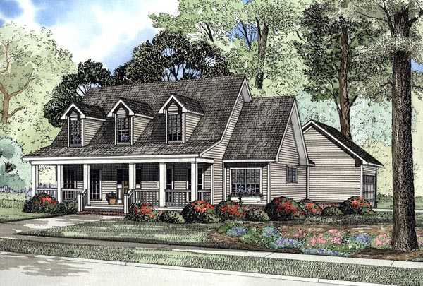 Country House Plan 62076