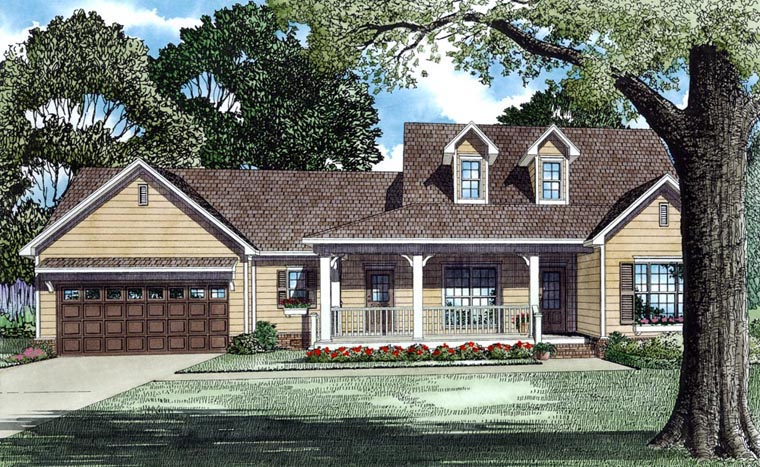 Traditional House Plan 62084