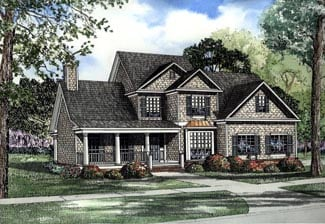 Traditional House Plan 62089