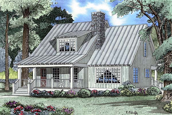 Bungalow Country Southern House Plan 62121 Elevation
