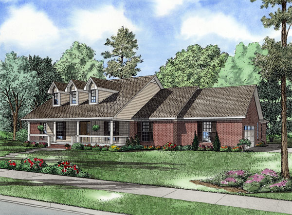 Country House Plan 62126