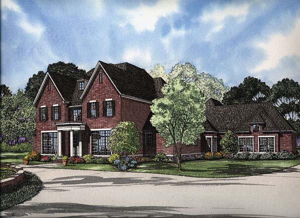 Colonial Traditional House Plan 62158 Elevation