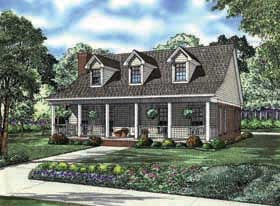 Plan Number 62163 - 1712 Square Feet