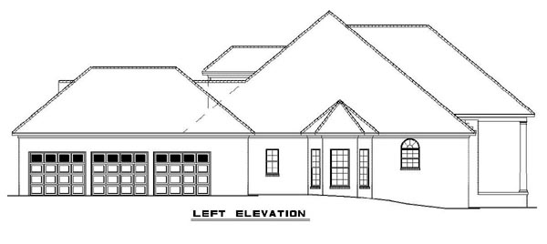 Colonial, Southern House Plan 62195 with 4 Beds, 3 Baths, 3 Car Garage Picture 1