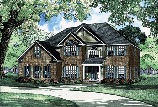 House Plan 62220 Elevation