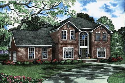 House Plan 62223 with 4 Beds, 4 Baths, 3 Car Garage