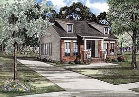 House Plan 62241 Elevation