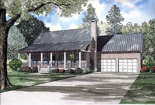 House Plan 62246 Elevation