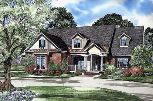 Craftsman Traditional House Plan 62249 Elevation