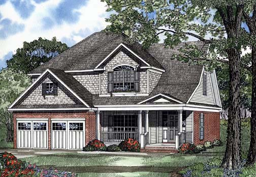 House Plan 62255 Elevation