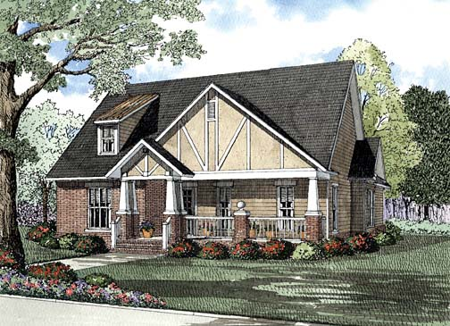 House Plan 62262 Elevation