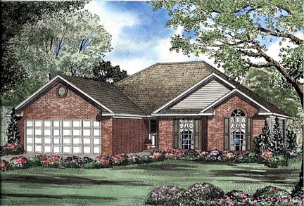 House Plan 62263 Elevation