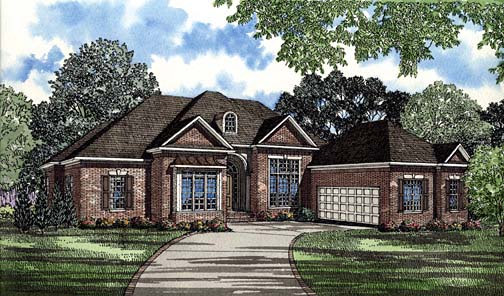 House Plan 62274 Elevation