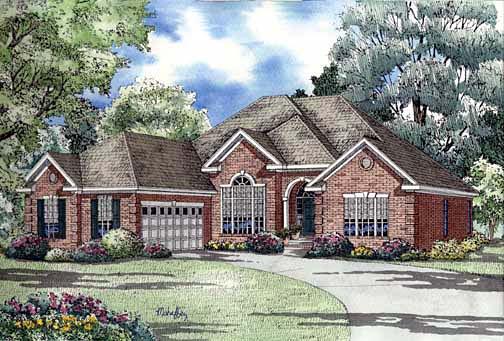 House Plan 62293 Elevation