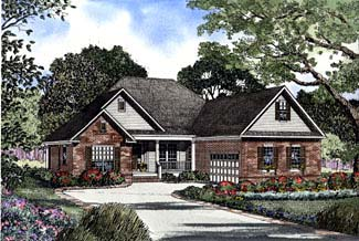 House Plan 62298 Elevation