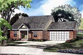 Plan Number 62301 - 1324 Square Feet