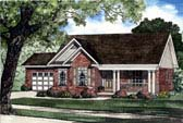 Plan Number 62302 - 1321 Square Feet