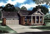 Plan Number 62303 - 1169 Square Feet