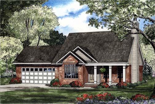 House Plan 62304 Elevation