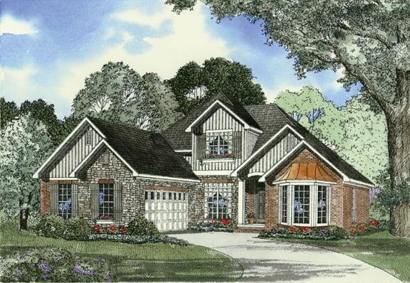 House Plan 62311 Elevation