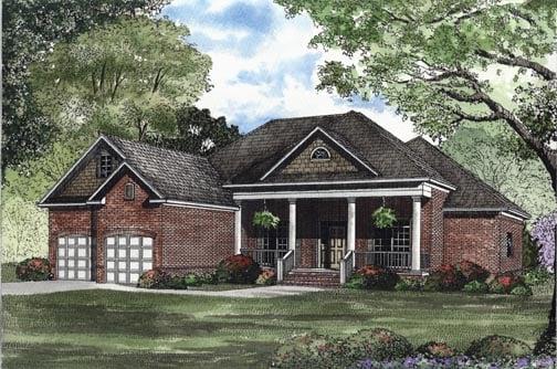 House Plan 62320 Elevation