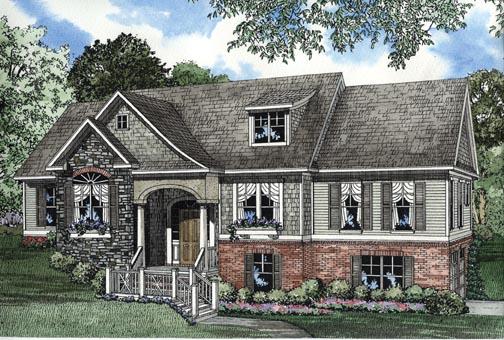 House Plan 62339 Elevation
