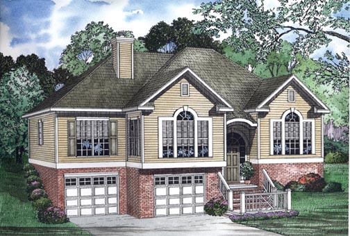 House Plan 62342 Elevation