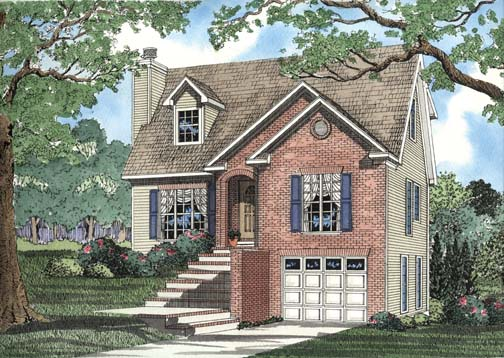 House Plan 62355 Elevation
