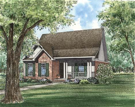 House Plan 62367 Elevation
