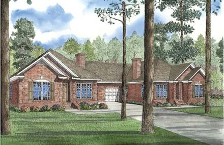 Multi-Family Plan 62381 with 6 Beds, 4 Baths, 2 Car Garage
