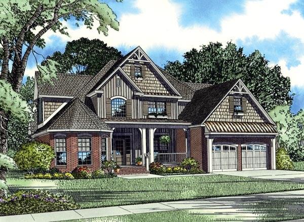 House Plan 62395 Elevation