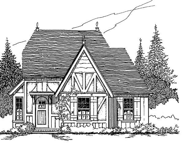 House Plan 62415