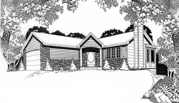Traditional House Plan 62509
