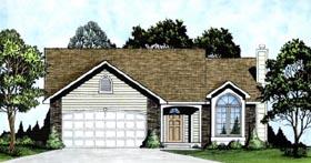 House Plan 62510