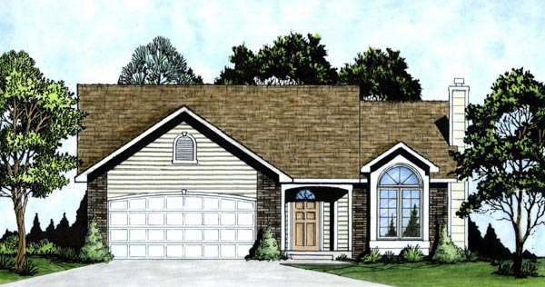 Traditional House Plan 62510 Elevation