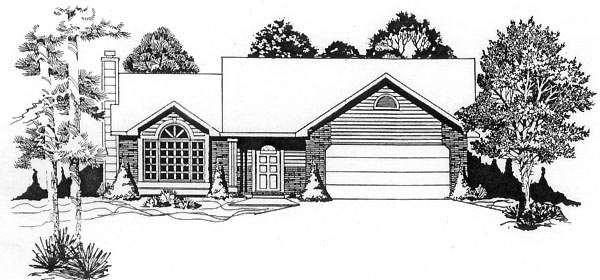 Traditional House Plan 62531 Elevation