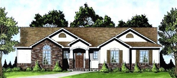OneStory House Plan 62552