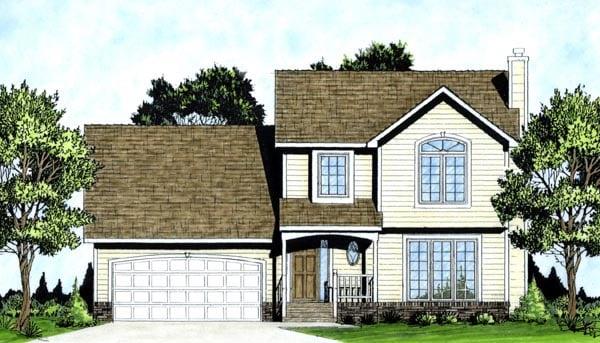 House Plan 62557