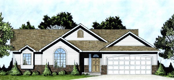 Traditional House Plan 62608