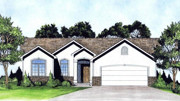 Traditional House Plan 62632 Elevation