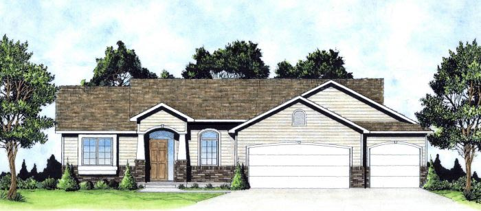 Traditional House Plan 62634 Elevation